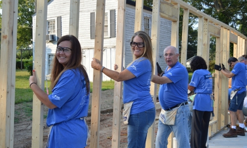 Upstate Business Journal: AFL Raises Walls on Habitat Home
